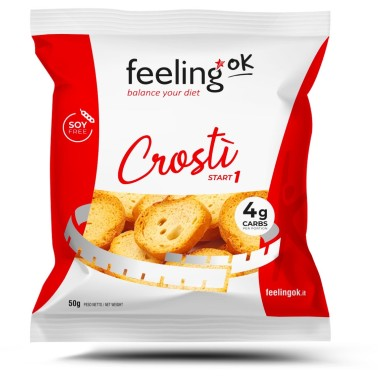 FEELING OK CROSTI' START 1, 50 g in vendita su Nutribay.it