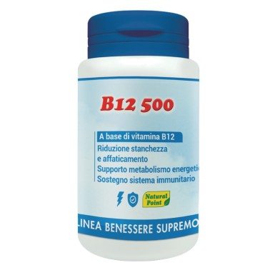 NATURAL POINT B12 500, 100 caps in vendita su Nutribay.it