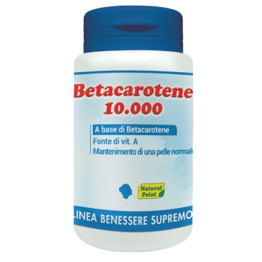NATURAL POINT BETACORTENE 10.000 80 perle in vendita su Nutribay.it