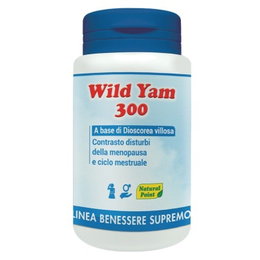 NATURAL POINT WILD YAM 300 50 caps in vendita su Nutribay.it
