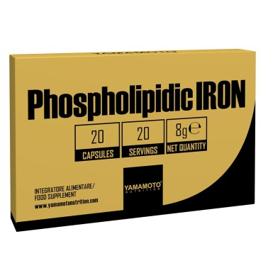 YAMAMOTO NUTRITION PHOSPHOLIPIDIC IRON 20 caps in vendita su Nutribay.it