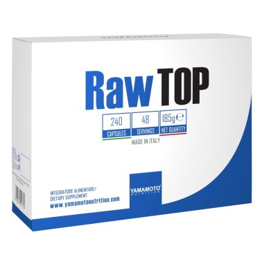 YAMAMOTO NUTRITION RAW TOP 240 caps in vendita su Nutribay.it