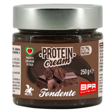 BPR NUTRITION PROTEIN CREAM FONDENTE 250 g in vendita su Nutribay.it