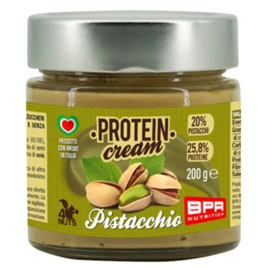 BPR NUTRITION PROTEIN CREAM PISTACCHIO 200 g in vendita su Nutribay.it