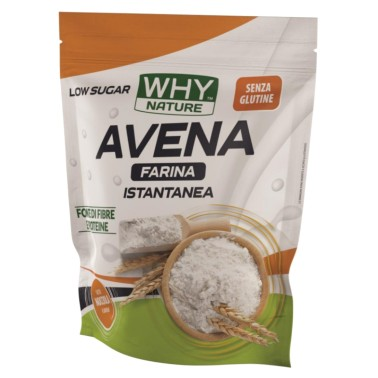 WHY NATURE FARINA D'AVENA ISTANTANEA GLUTEN FREE 1000 gr in vendita su Nutribay.it