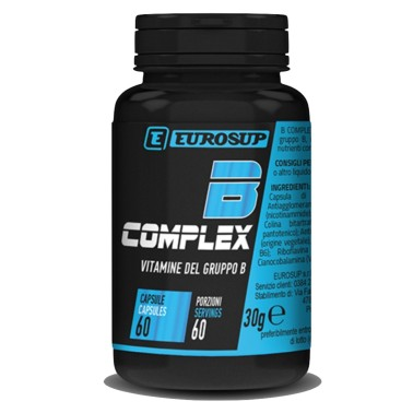EUROSUP B COMPLEX 60 caps in vendita su Nutribay.it