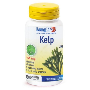LONG LIFE KELP 180 cpr in vendita su Nutribay.it