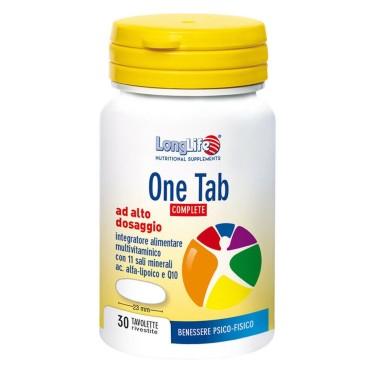 LONG LIFE ONE TAB COMPLETE 30 tav in vendita su Nutribay.it