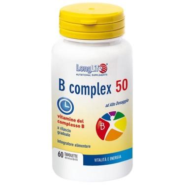 LONG LIFE B COMPLEX 50 60 tav in vendita su Nutribay.it