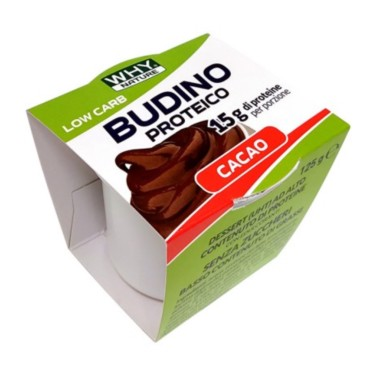 WHY NATURE BUDINO PROTEICO 125 gr in vendita su Nutribay.it