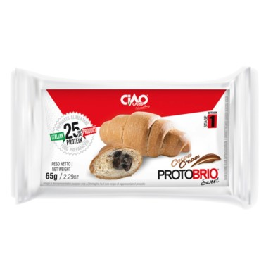 CIAOCARB PROTOBRIO SWEET STAGE 1 CROISSANT RIPIENO 1 X 65 gr in vendita su Nutribay.it