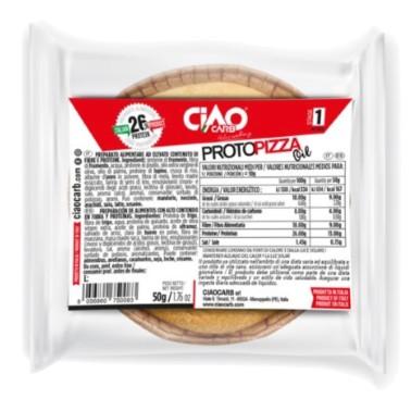 CIAOCARB PROTOPIZZA STAGE 1 50 gr in vendita su Nutribay.it