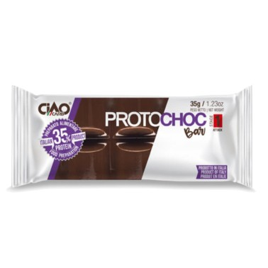 CIAOCARB PROTOCHOC BAR STAGE 1 x 35 gr in vendita su Nutribay.it