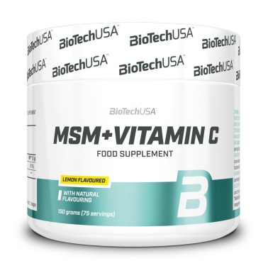 BIOTECH USA MSM + VITAMIN C - 150 gr in vendita su Nutribay.it