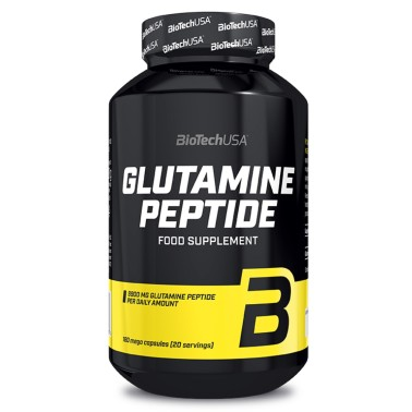 BIOTECH USA GLUTAMINE PEPTIDE 180 mega caps in vendita su Nutribay.it
