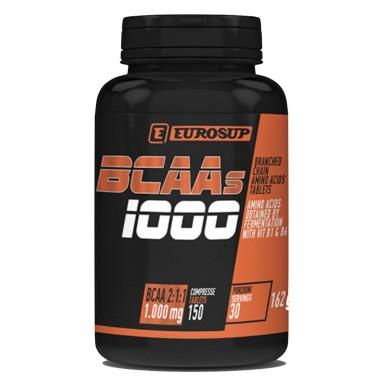 EUROSUP BCAA'S 1000 150 cpr in vendita su Nutribay.it