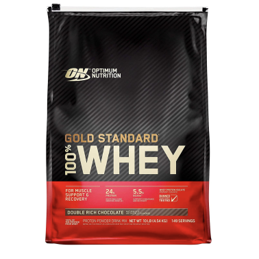 ON OPTIMUM NUTRITION 100% WHEY GOLD STANDARD 4540 gr in vendita su Nutribay.it