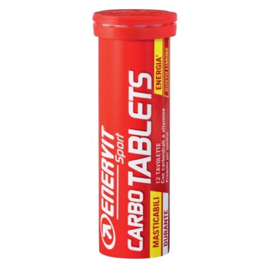 ENERVIT CARBO TABLETS 12 tav in vendita su Nutribay.it