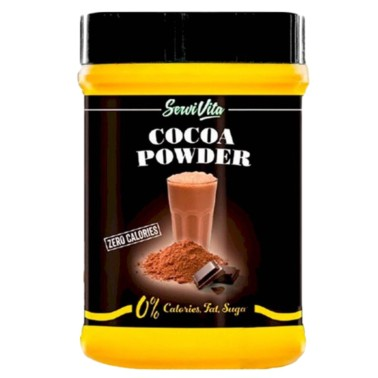 SERVIVITA COCOA POWDER ZERO 500 gr in vendita su Nutribay.it