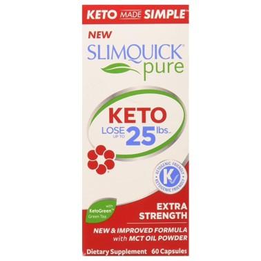 SLIMQUICK PURE KETO LOSE 3X - 60 caps in vendita su Nutribay.it