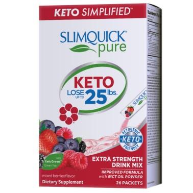 SLIMQUICK PURE KETO LOSE THERMO POWDER – 26 bustine in vendita su Nutribay.it