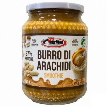 PRONUTRITION BURRO ARACHIDI SMOOTIE 700 gr in vendita su Nutribay.it