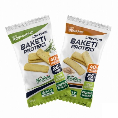 WHY NATURE LOW CARB BAKETI PROTEICI 30 gr in vendita su Nutribay.it