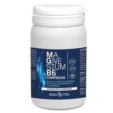 ERBA VITA MAGNESIUM B6 - 60 cpr in vendita su Nutribay.it