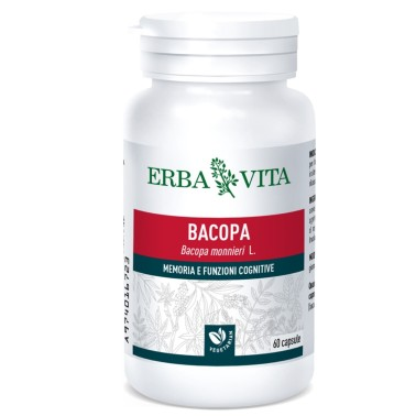 ERBA VITA BACOPA 60 caps vegetali in vendita su Nutribay.it