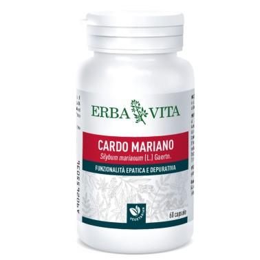 ERBA VITA CARDO MARIANO 60 caps vegetali in vendita su Nutribay.it
