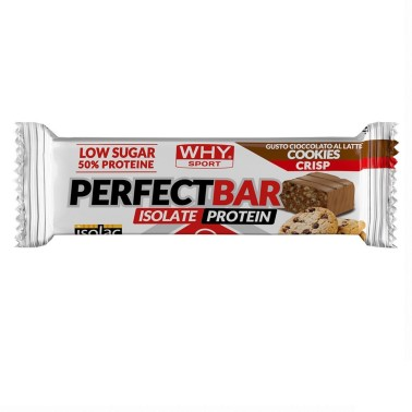 WHY SPORT NEW PERFECT BAR 1 barretta 50 gr in vendita su Nutribay.it