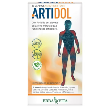 ERBA VITA ARTIDOL 60 caps vegetali in vendita su Nutribay.it