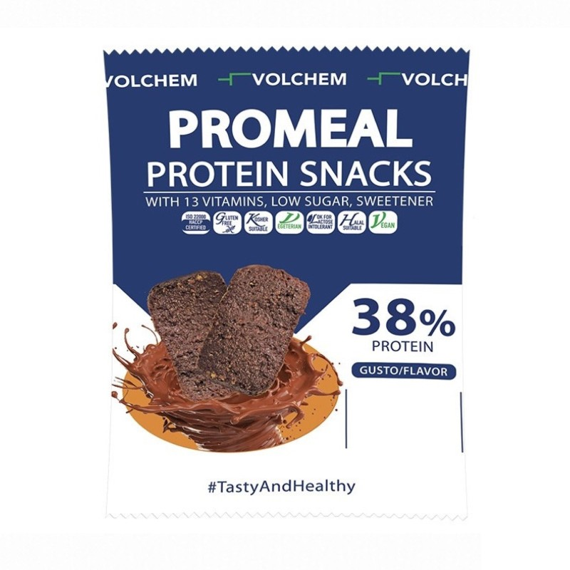 VOLCHEM PROTEIN SNACK 38% 1 x 37,5 gr in vendita su Nutribay.it