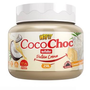 MAX PROTEIN WTF COCONUT WHITE COCOCHOC PROTEIN CREAM 250 gr in vendita su Nutribay.it