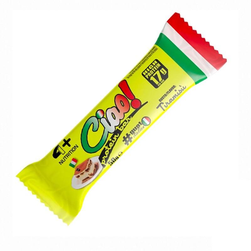4+ NUTRITION CIAO BAR 1 barretta da gr 50 in vendita su Nutribay.it