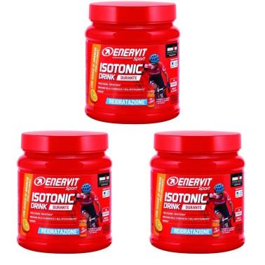 ENERVIT Isotonic Drink arancia 3 confezioni da 420 grammi in vendita su Nutribay.it