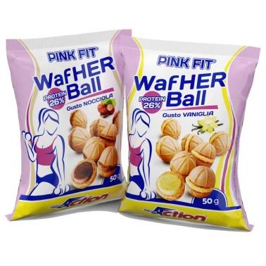 PROACTION PINK FIT WAFHER BALL 50 gr in vendita su Nutribay.it