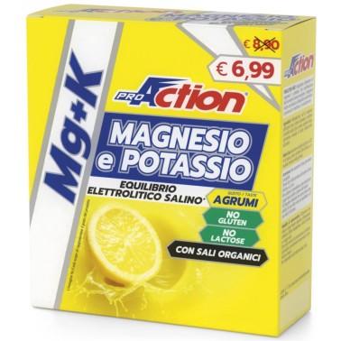 PROACTION MAGNESIO E POTASSIO MG+K 10 bustine in vendita su Nutribay.it