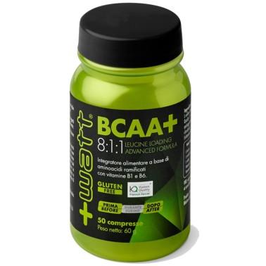 +WATT BCAA+ 8:1:1 50 cpr in vendita su Nutribay.it