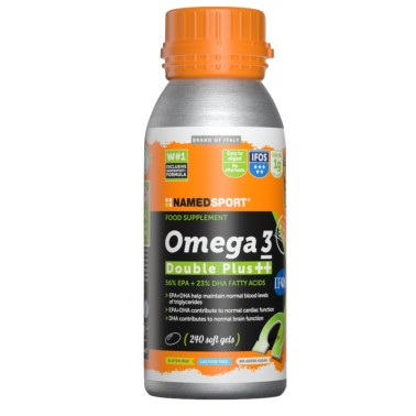 NAMED SPORT OMEGA 3 DOUBLE PLUS ++ 240 PERLE SOFTGEL in vendita su Nutribay.it