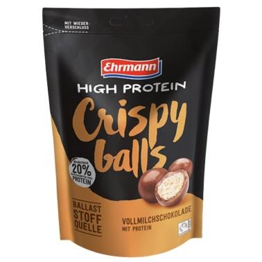 EHRMANN HIGH PROTEIN - CRISPY BALLS CIOCCOLATO 90 gr in vendita su Nutribay.it
