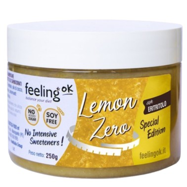 FEELING OK LEMON ZERO 250 gr in vendita su Nutribay.it