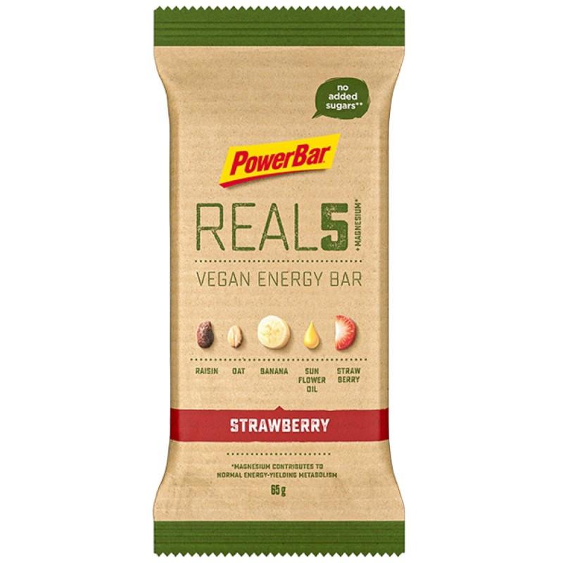 POWERBAR REAL5 ENERGY BAR 1 barretta 65 gr in vendita su Nutribay.it