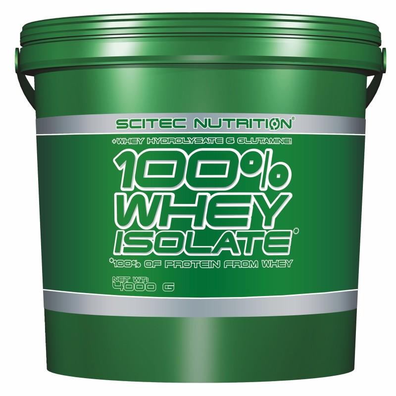 SCITEC 100% Whey Isolate 4000gr 4kg Proteine del siero del latte in vendita su Nutribay.it