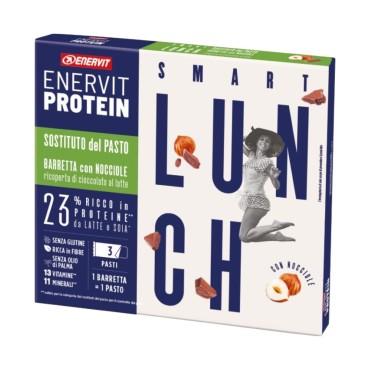ENERVIT PROTEIN LUNCH BAR 3 barrette da 58 gr in vendita su Nutribay.it