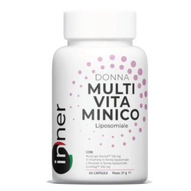 INNER MULTIVITAMINICO LIPOSOMIALE DONNA 60 caps in vendita su Nutribay.it