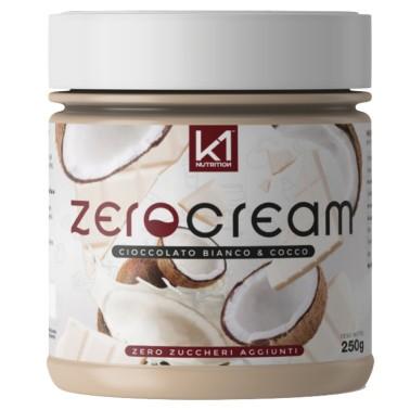 K1 NUTRITION ZERO CREAM CIOCCOLATO BIANCO E COCCO 250 gr in vendita su Nutribay.it