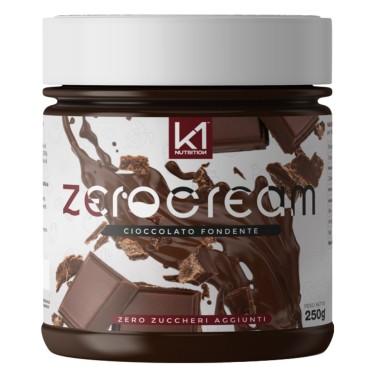 K1 NUTRITION ZERO CREAM CIOCCOLATO FONDENTE 250 gr in vendita su Nutribay.it