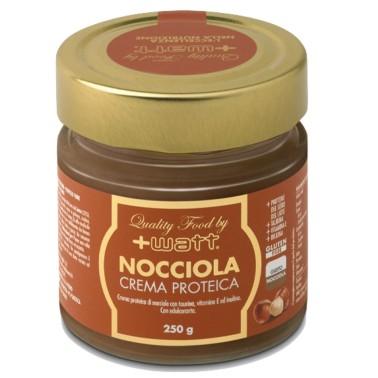 +WATT NOCCIOLA CREMA PROTEICA 250 gr in vendita su Nutribay.it
