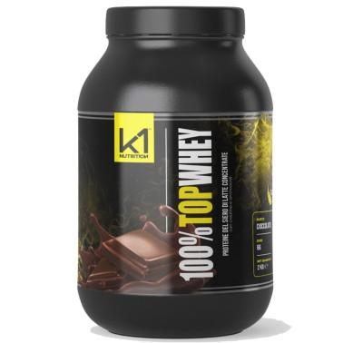K1 NUTRITION 100 % TOP WHEY 2 KG in vendita su Nutribay.it